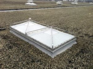 Repaired Commercial Skylight